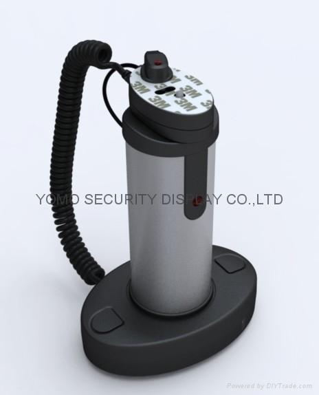 圆柱形手机防盗器 手机充电防盗器 报警防盗器 4