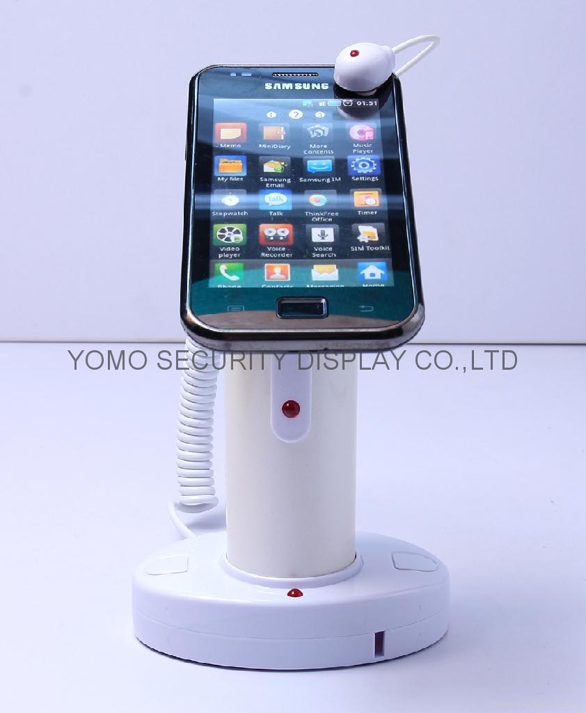 手機防盜器 圓柱形真機展示防盜器 數碼產品防盜報警器  1