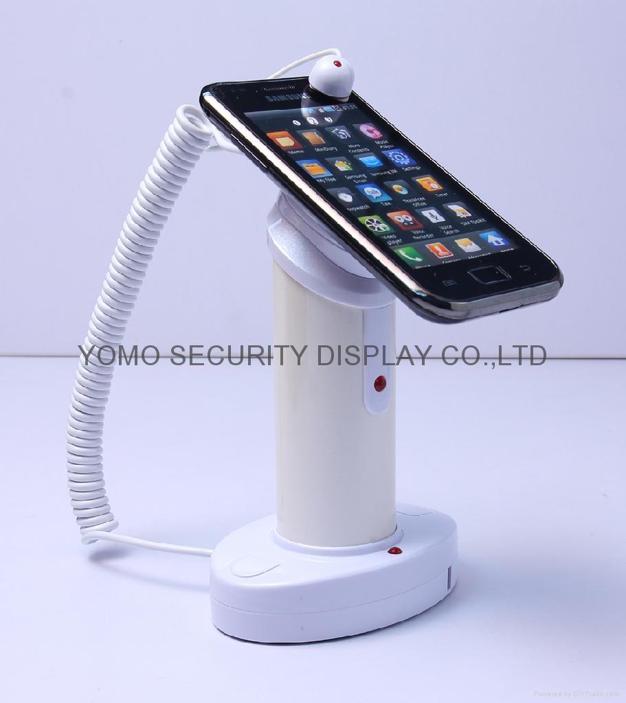 手機防盜器 圓柱形真機展示防盜器 數碼產品防盜報警器  2