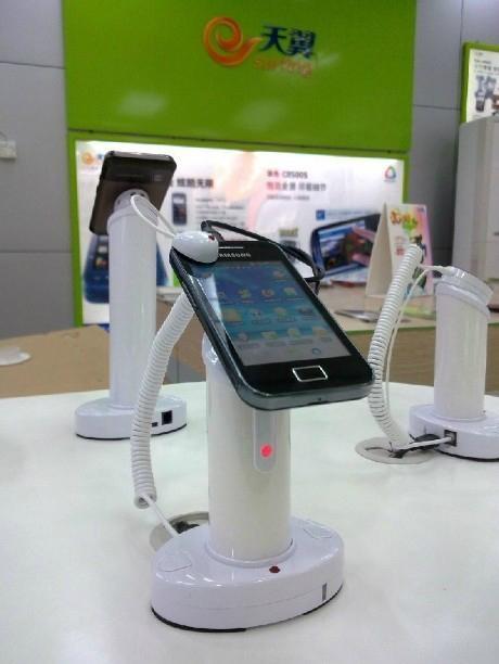 手機防盜器 圓柱形真機展示防盜器 數碼產品防盜報警器  7