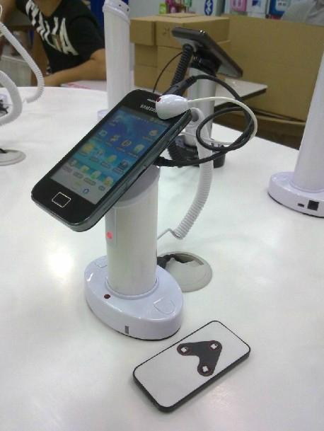 手機防盜器 圓柱形真機展示防盜器 數碼產品防盜報警器  8