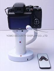 圆柱形相机报警器 充电防盗一体 真机防盗展示体验