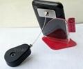 水滴形自動伸縮手機防盜器 手機防盜鏈 商品防盜展示器 5