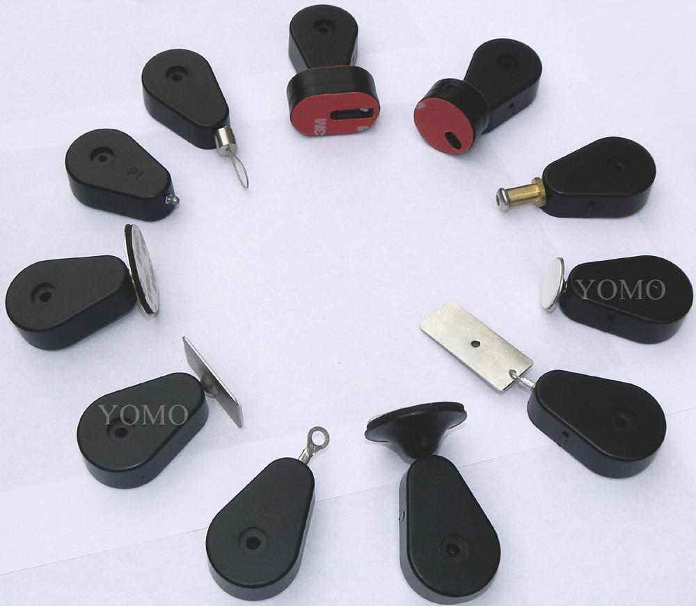 手机展示防盗架 防盗拉线盒 展示品防盗盒 自动伸缩卷线盒  1
