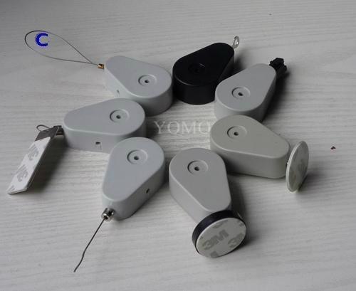 商品陈列防盗绳 超强钢丝防盗链 自动伸缩拉线器 1