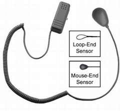 Self Alarm Tag with Loop or Mouse Sensor end,One Regular-Headed Alarm Sensor