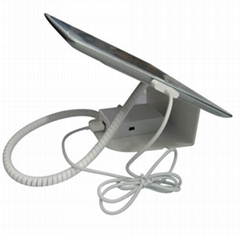 Metal Alarm and Charging Display Stand for Tablet PC