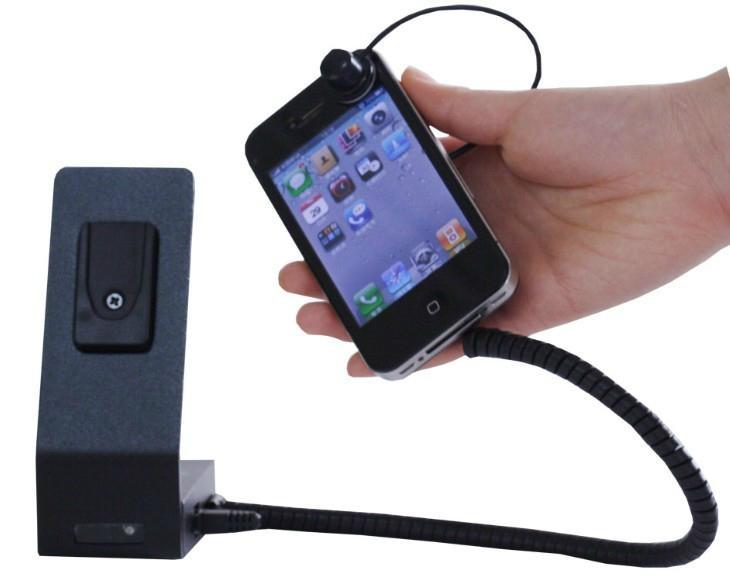 手機充電防盜報警器 手機陳列報警器 體驗展櫃防盜器 3