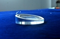 通用平板亚克力底座 pad 圆形展示架 mini 透明水晶实心托架机架 3
