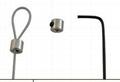 大拉力安全定位伸缩拉线盒 大拉力承重缓冲固定锁扣 4