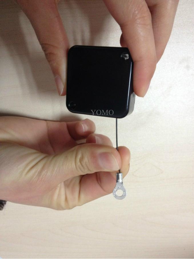 展示防盗拉线盒 珠宝手饰小型迷你伸缩拉线器 手机防盗链 4