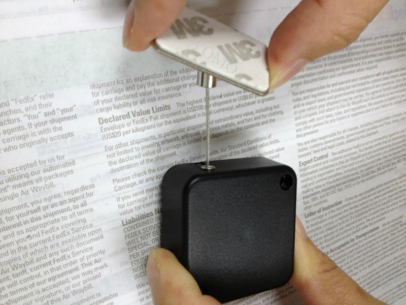 手机防盗拉线盒 钢丝伸缩盒 5