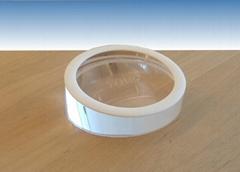圆形手机展示架 平板电脑透明水晶亚克力防盗底座