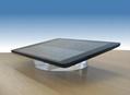 圆形手机展示架 平板电脑透明水晶亚克力防盗底座 2