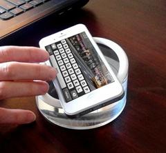 亚克力手机展示架  亚克力展示实心座