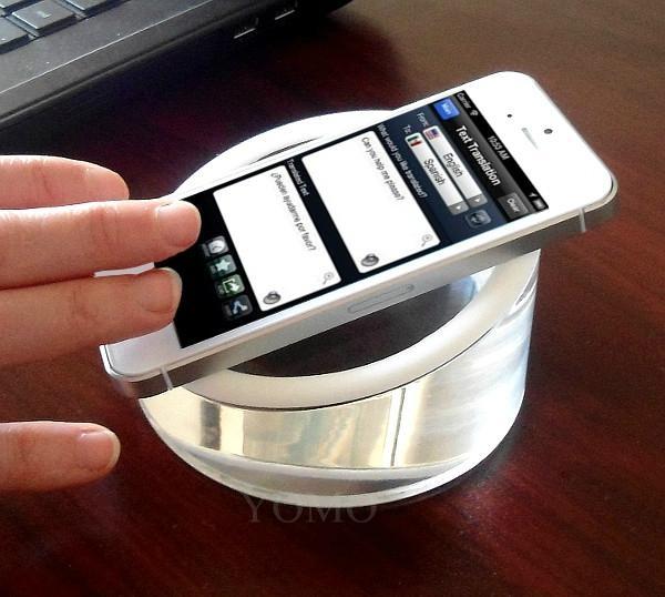 亚克力手机展示架  亚克力展示实心座  2