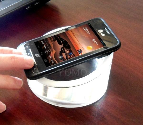 亚克力手机展示架  亚克力展示实心座  4