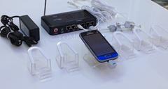 真机充电多路防盗报警器 一拖四手机展示防盗器