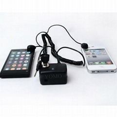 Dual Input Display Alarm Kit for Laptop or Cellphone