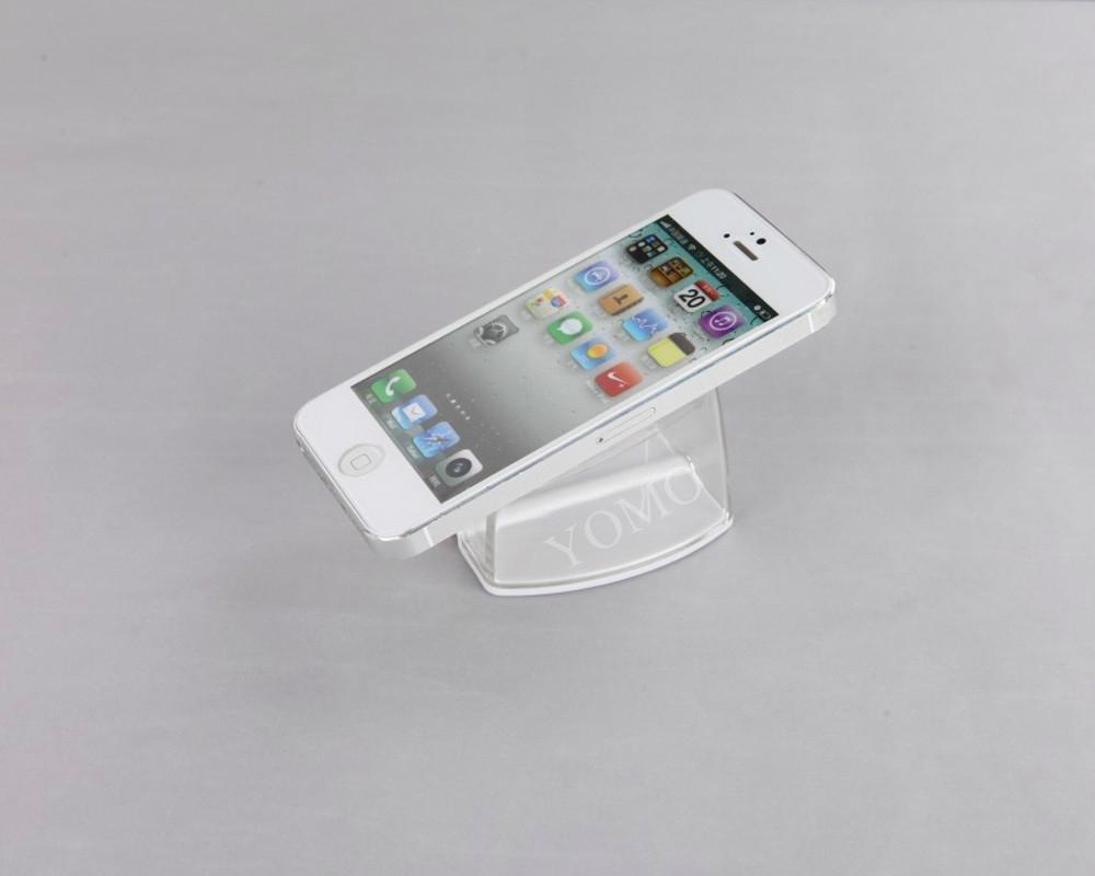 精品展示U型亚克力手机托架 透明手机托架 卖场手机防盗展示托架 4