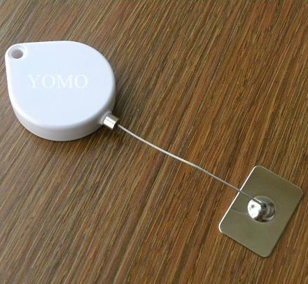 防盜伸縮固定拉線盒 自動伸縮防盜鋼絲繩線盒 2