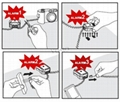 Dual Input Display Alarm Kit for Laptop or Cellphone