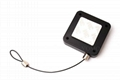Square Retracting Multi-purpose Security Tether with  Adjustable Lasso End