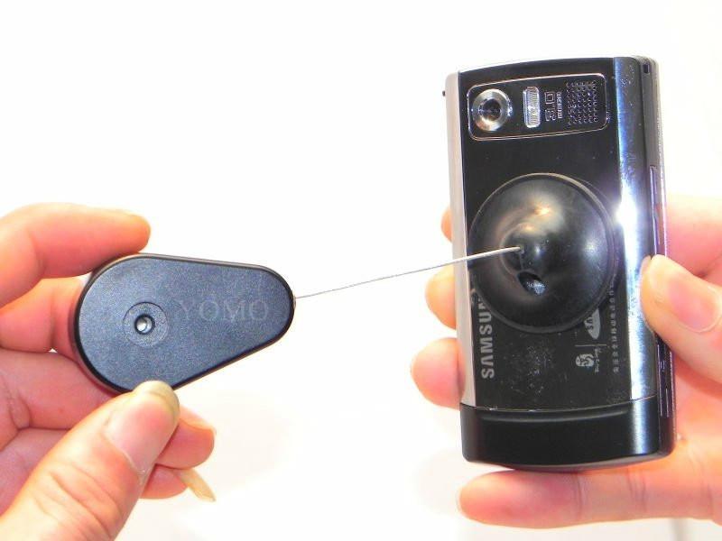手機防盜拉線盒  商品防盜挂繩 伸縮拉線盒 1