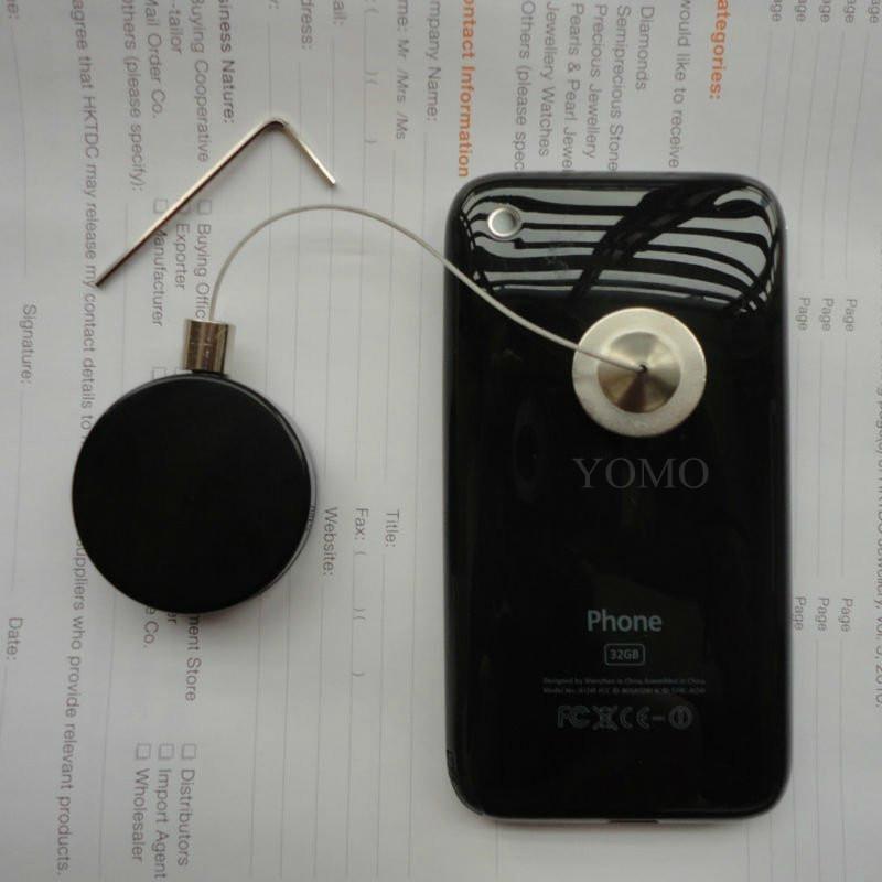 数码配件防盗展示拉线盒 摇控防盗防丢拉线器  自动伸缩器 3