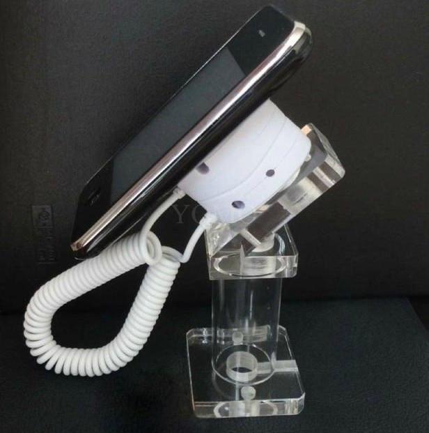亚克力手机展示支架 透明水晶支架 手机模型展示架 手机防盗支架 1