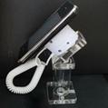 亚克力手机展示支架 透明水晶支