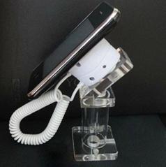 亞克力手機展示支架 透明水晶支架 手機模型展示架 手機防盜支架