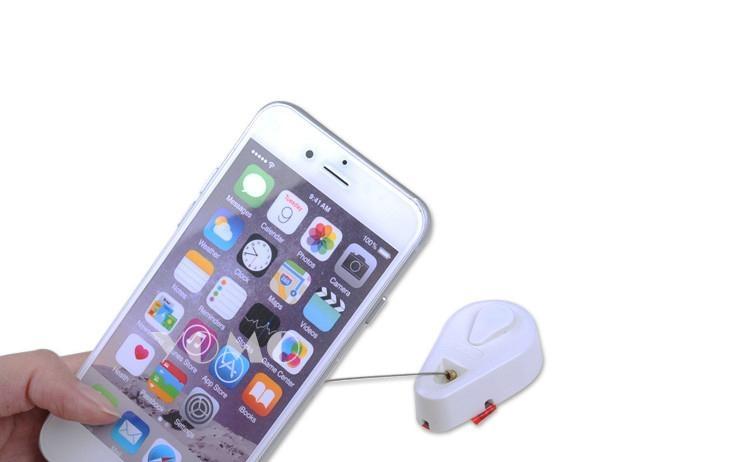 手机防盗拉线盒 自动伸缩钢丝绳 接线盒拉线器 手机防盗链展示拉线绳 4