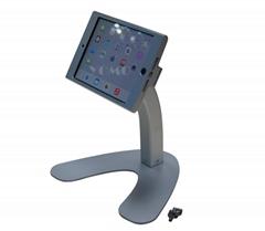 便攜式蘋果平板電腦桌面展示支架 帶鎖防盜支架