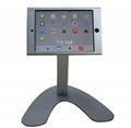 便攜式蘋果平板電腦桌面展示支架 帶鎖防盜支架 2