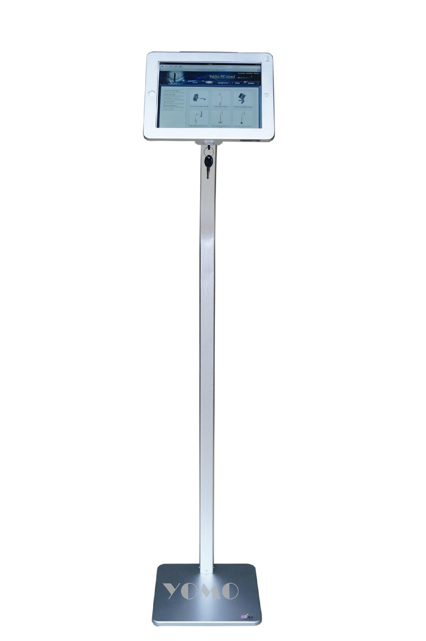 Workstation iPad Kiosk Stand Locking Clamshell for Trade Shows 2