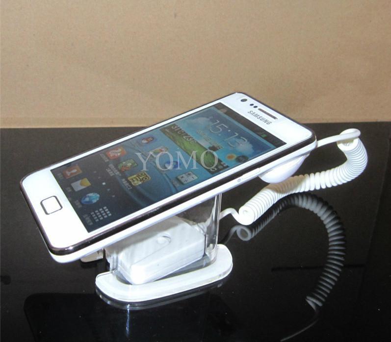 手機展示架 馬蹄展示桌面支架 防盜支架 透明報警防盜架 4