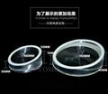 圆形实心平板展示架托盘 苹果体验店ipad体验展示架托 5