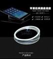 圆形实心平板展示架托盘 苹果体验店ipad体验展示架托 7