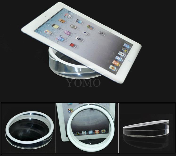 圆形实心平板展示架托盘 苹果体验店ipad体验展示架托 8