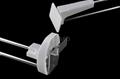 Hanging  display hook, Slatwall hook ,Safety hook,Safety display hook 4