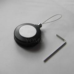 供應各種型號首飾/精品展示用防盜繩 自動伸縮拉線盒 易拉扣