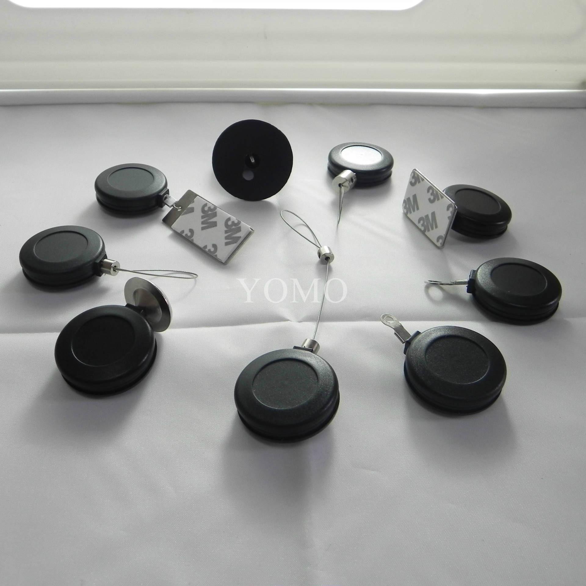 供應各種型號首飾/精品展示用防盜繩 自動伸縮拉線盒 易拉扣 7