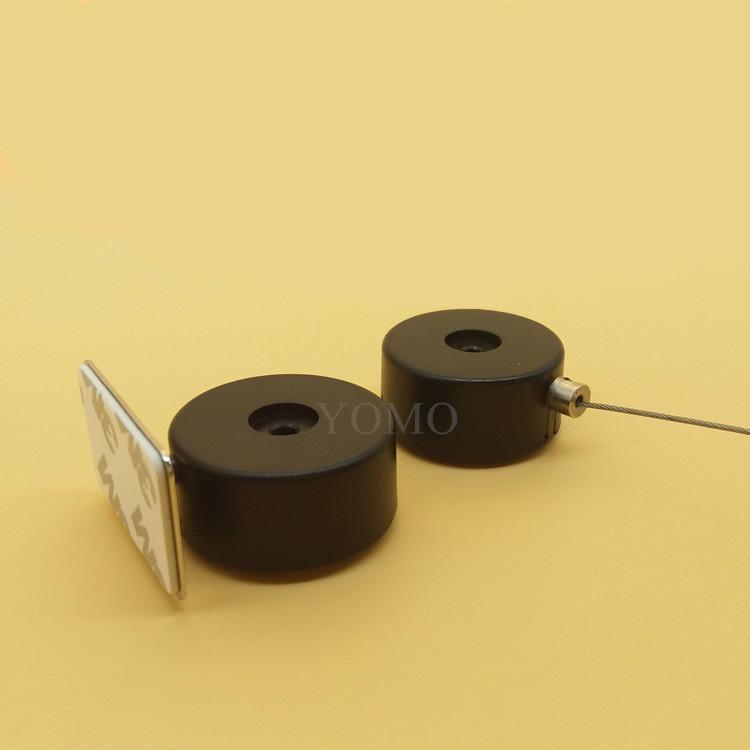 手機展示防盜鏈 機模陳列防盜鏈 超強鋼絲繩自動伸縮  1