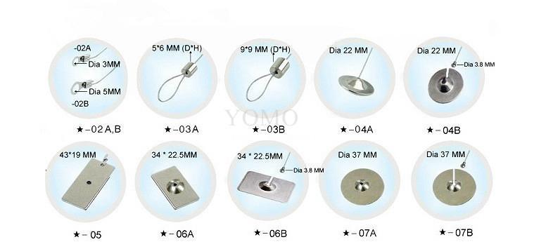 展示防盜鋼絲繩拉線盒 伸縮盒 ODM定製特價批發 4