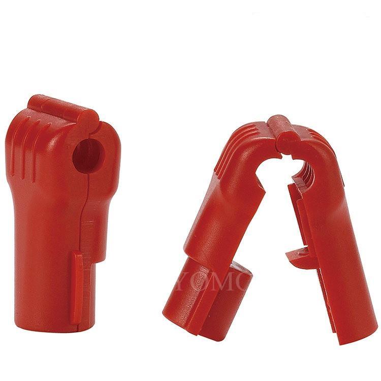 小紅鎖扣 商場貨架挂鉤鎖 配件展示架防盜扣 超市防盜挂鉤鎖 7