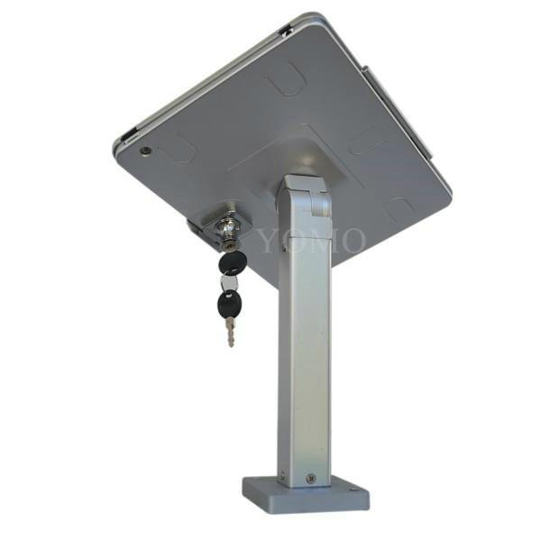Wall-mounted Ipad Kiosk,wall mount android tablet kiosk 2