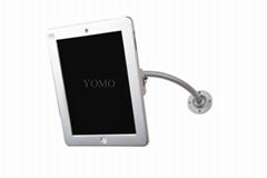 苹果平板电脑挂墙展示支架 可调节防盗iPad懒人平板支架