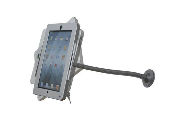 蘋果平板電腦挂牆展示支架 可調節防盜iPad懶人平板支架 4