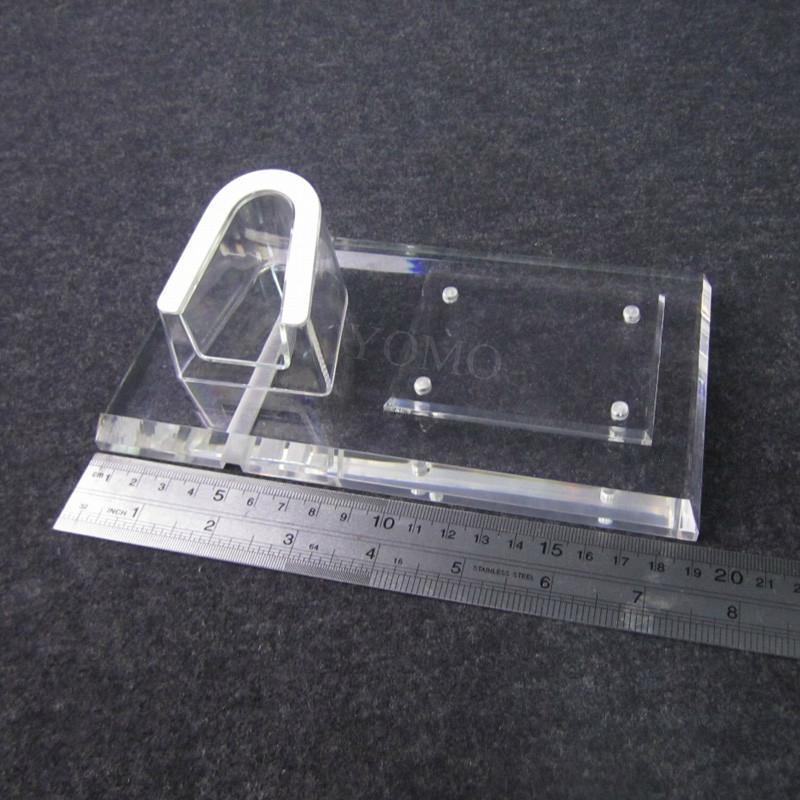 亚克力手机平板一体展示座 U座防盗数码架托 支架手机座 3